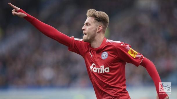 Ducksch, el máximo goleador del Holstein Kiel y de la 2. Bundesliga  | Foto: @Bundesliga_DE