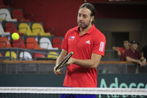 Nicolás Massú, capitán y leyenda del tenis chileno | Foto: AAT.