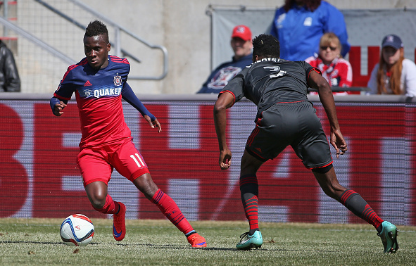 Accam (left) will be one to watch for in 2016 / Jonathan Daniel - Getty Images