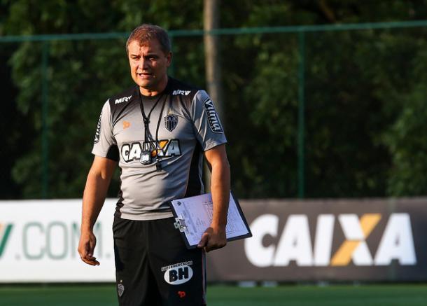 No Atlético-MG, Aguirre perdeu o Campeonato Mineiro e foi trucidado pela torcida alvinegra. Resultado, resultado e resultado... (Foto: Bruno Cantini/Atlético-MG)