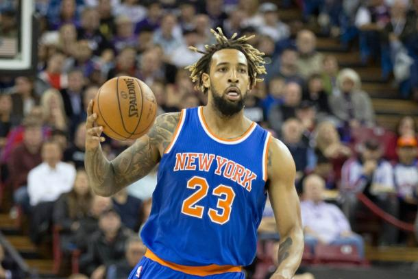 Derrick Williams brings the ball up the court | Kelley L. Cox - USA TODAY