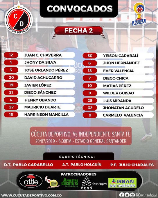 Foto: Cúcuta Deportivo Oficial