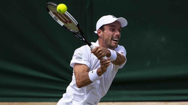 Bautista ataca. Imagen-Wimbledon