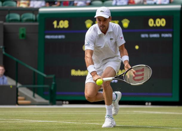 En busca de la Semifinal. Imagen-Wimbledon