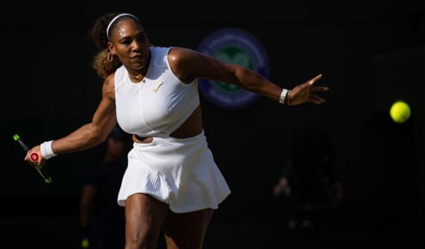 Su mejor arma. Imagen-Wimbledon