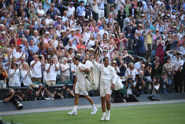 Se van las dos Leyendas. Imagen-Wimbledon