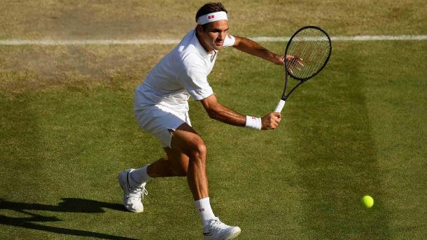 Federer ataca y va por más. Imagen-Wimbledon