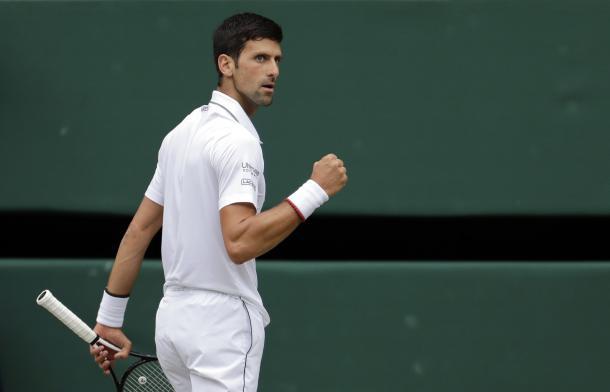 Primer set para el serbio. Imagen-Wimbledon
