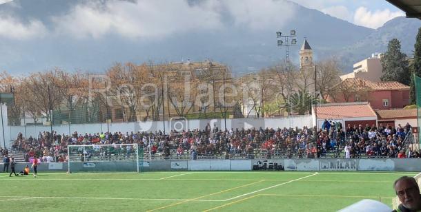 Afición desplazada del Real Jaén- Foto: Real Jaén