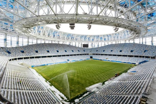 El Nizhny Nóvgorod Stadium será el teatro | Foto: @FIFAWorldCup
