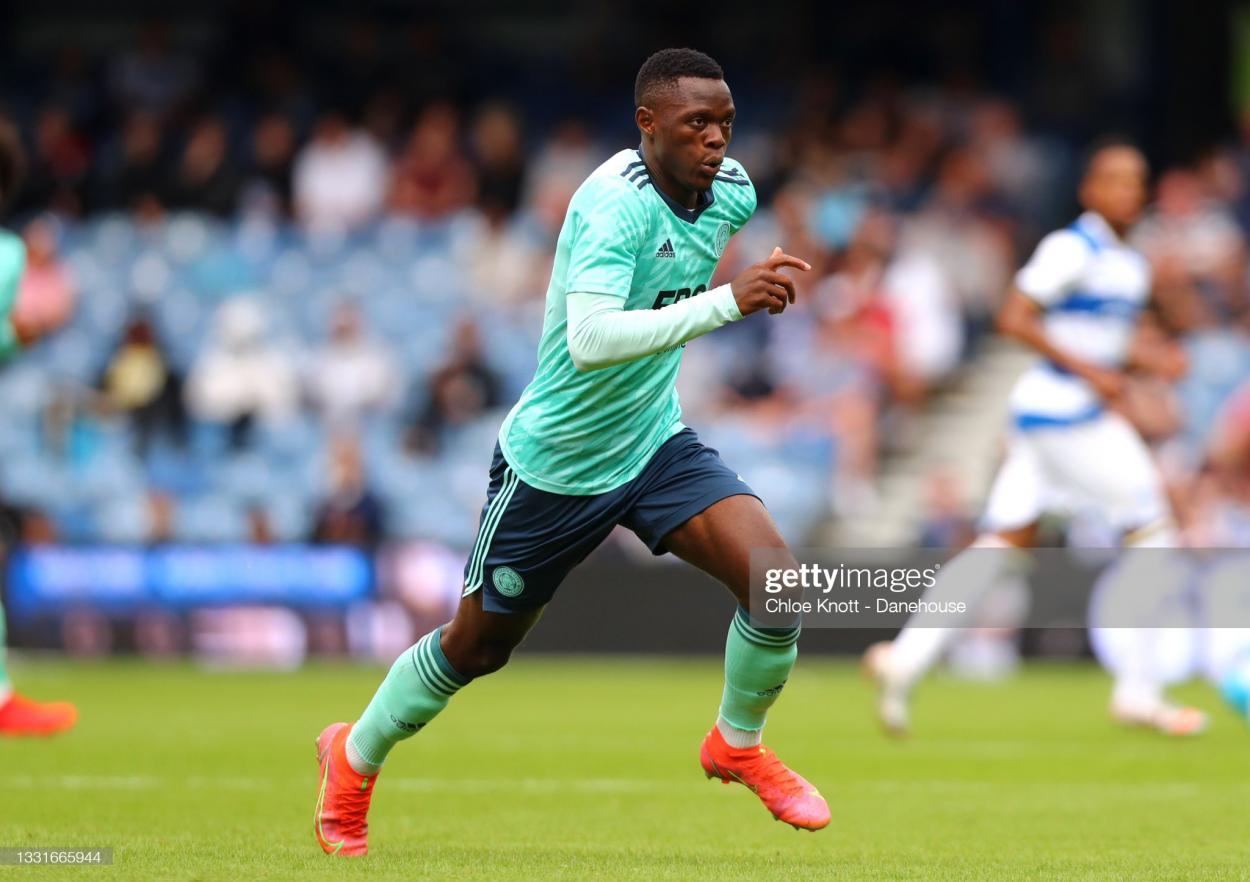 Patson Daka has impressed since his transfer to Leicester from Red Bull Salzburg | Credit: Chloe Knott | Getty Images