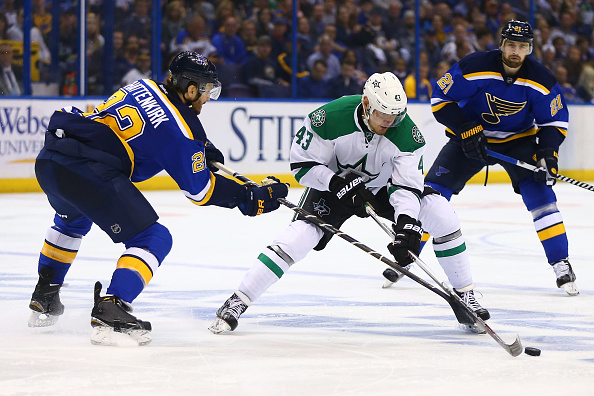 The Dallas Stars took care of business on the road tonight, getting a crucial win. | Photo: Getty Images