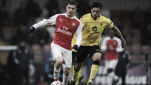 Crowley hopes time on loan will help development. Photo: arsenal.com