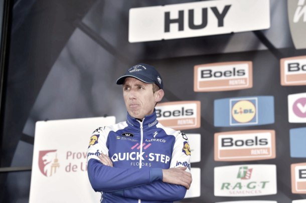 Otra vez se quedó a las puertas de la victoria en Huy | Foto: Quick-Step Floors
