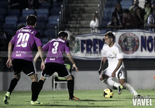 Lucas Vázquez, en sus primeros años en el Castilla | Foto: Dani Mullor (VAVEL.com)