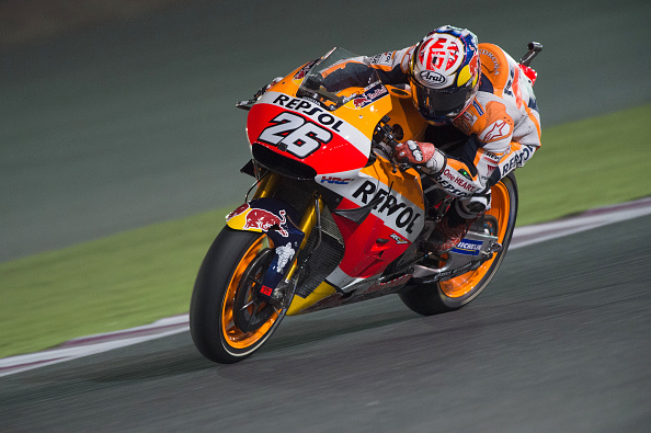 Dani Pedrosa during the Qatar MotoGP | Photo: Mirco Lazzari