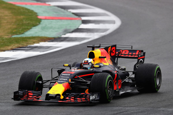 Daniel Ricciardo, durante la carrera. Foto: @redbullracing