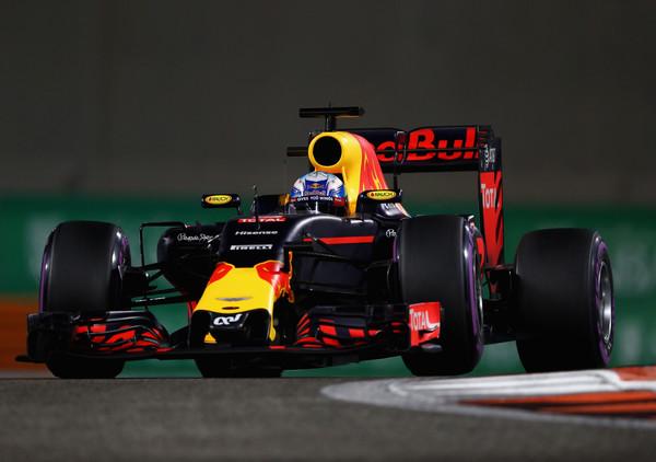 Daniel Ricciardo, durante el Gran Premio de Abu Dabi de 2016 | Fuente: Getty Images