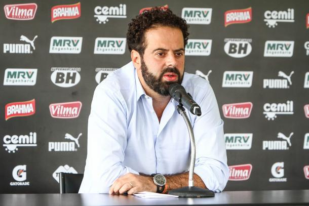 Nepomuceno garantiu que Atlético-MG ainda está na briga pela Copa do Brasil (Foto: Bruno Cantini/CAM)