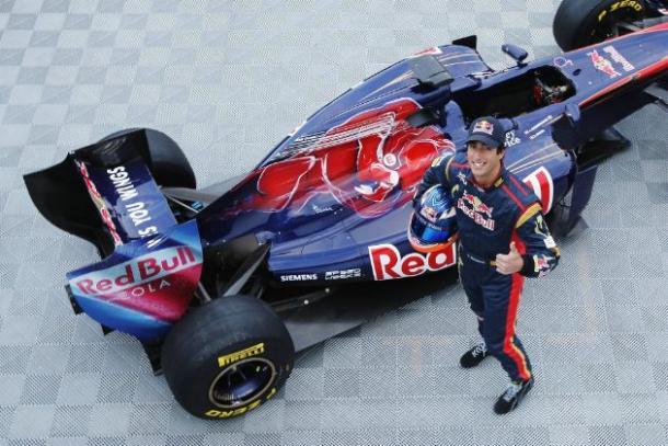 Daniel Ricciardo in Toro Rosso (foto: da web)
