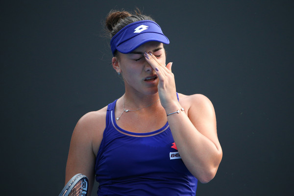 Danka Kovinic would be disappointed with her performance today   Photo: Michael Dodge/Getty Images AsiaPac