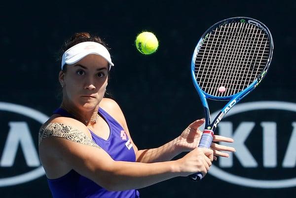 Danka Kovinic at the Australian Open   Photo: Darrian Traynor/Getty Images AsiaPac