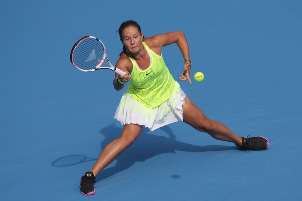 Daria Kasatkina failed to convert a match point against Karolina Pliskova in the second round of the 2016 China Open | Photo: Emmanuel Wong/Getty Images AsiaPac