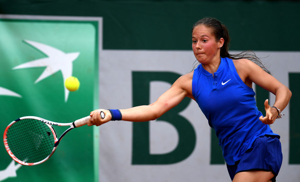 Daria Kasatkina in action at last year's French Open | Photo: Dennis Grombkowski/Getty Images Europe