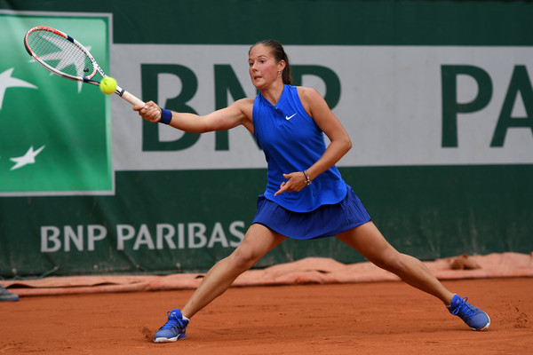 Daria Kasatkina in action at the French Open last year | Photo: Dennis Grombkowski/Getty Images Europe