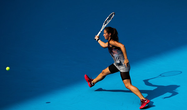 Kasatkina in action at the China Open | Photo: Lintao Zhang/Getty Images AsiaPac