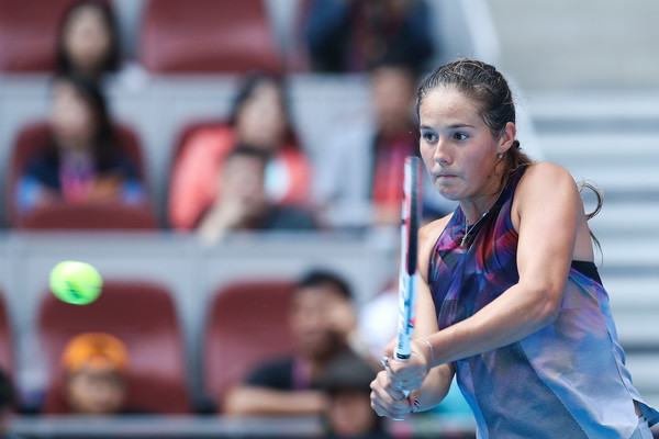 Daria Kasatkina in action at the China Open | Photo: Lintao Zhang/Getty Images AsiaPac