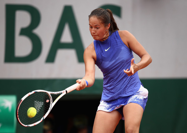 Daria Kasatkina in action | Photo: Julian Finney/Getty Images Europe