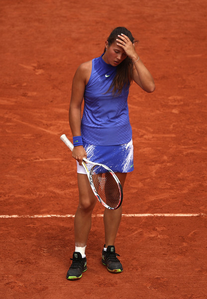 Daria Kasatkina, once again, failed to take her chances at the big events -- a factor which has prevented her from rising in the rankings | Photo: Julian Finney/Getty Images Europe
