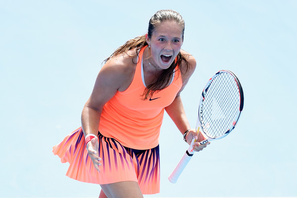 Daria Kasatkina claimed the biggest win of her career over Angelique Kerber in Sydney last year | Photo: Brett Hemmings/Getty Images AsiaPac