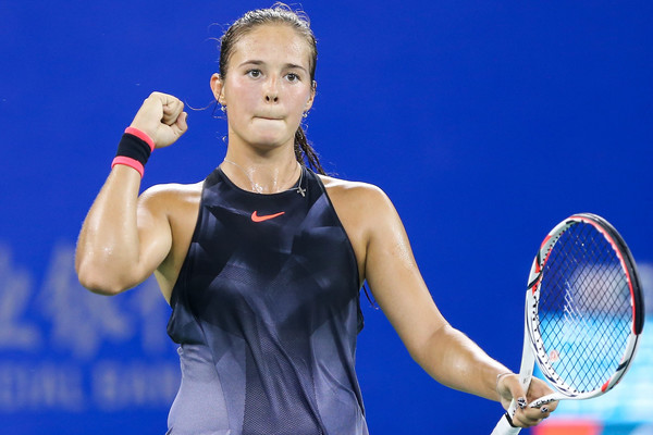 Daria Kasatkina would be pleased with her performance today | Photo: Yifan Ding/Getty Images AsiaPac