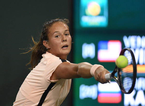 Daria Kasatkina had a fast start to the match after grabbing the opening break | Photo: Kevork Djansezian/Getty Images North America