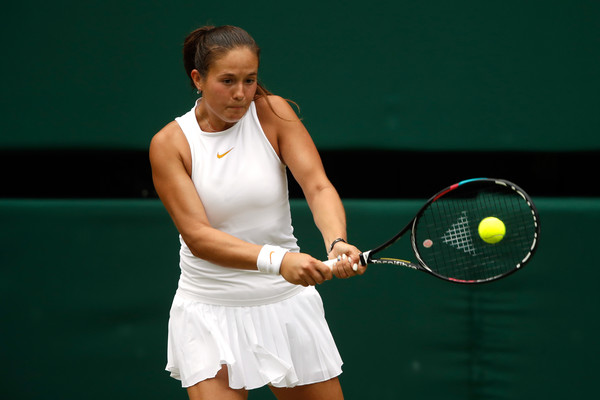 Daria Kasatkina's drop shots today were exceptionally excellent | Photo: Julian Finney/Getty Images Europe