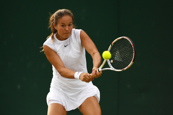 Daria Kasatkina in action at the Wimbledon Championships | Photo: David Ramos/Getty Images Europe