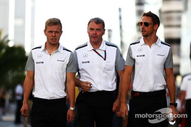 Dave Redding (C) will join Williams after nearly 20 years at McLaren. (Image Credit: Motorsport.com)