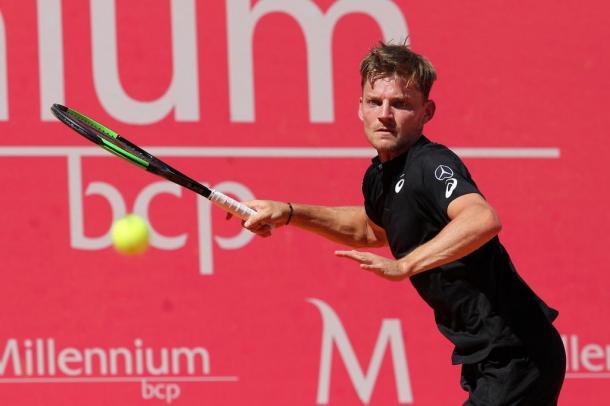 David Goffin is in the Millennium Estoril Open semifinals. (Photo by Millennium Estoril Open)