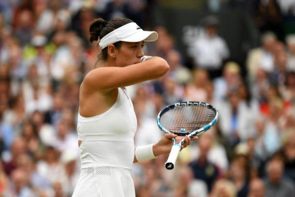 Garbine Muguruza in action at Wimbledon (Getty/David Ramos)
