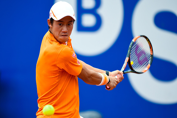Nishikori should use his backhand to dictate play (Getty)