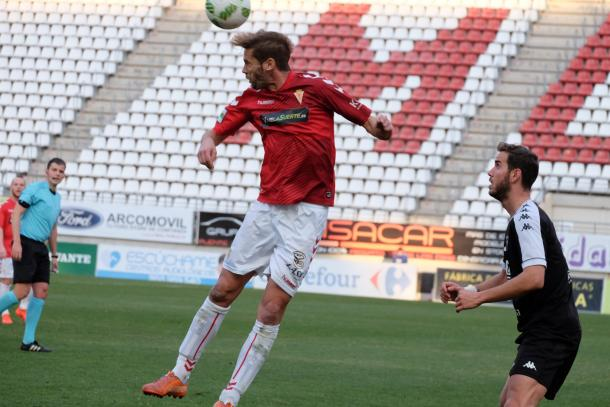 David Sánchez se ha convertido en el jefe del equipo dentro del terreno de juego   Foto: futbolbalear.es