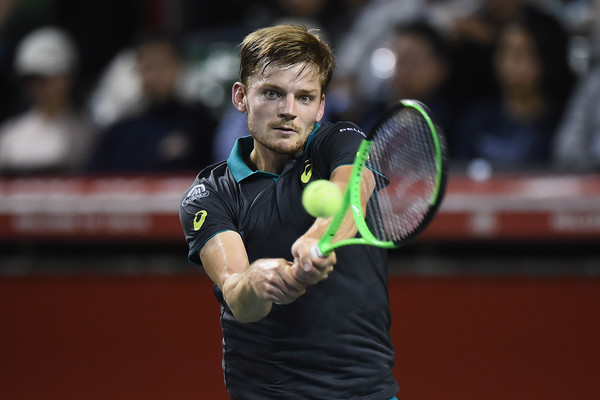 David Goffin in action at Tokyo | Photo: Matt Roberts/Getty Images AsiaPac