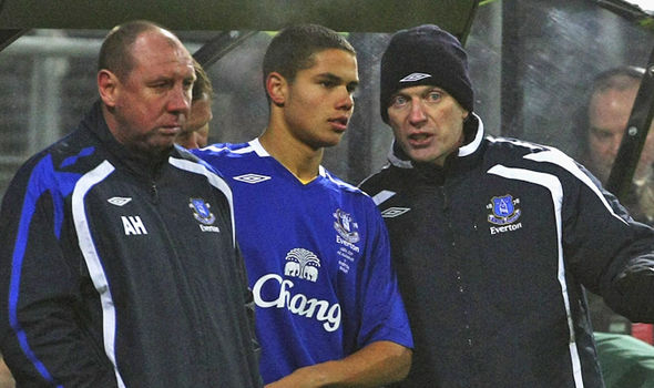 Jack Rodwell and David Moyes during their time with Everton | Photo: express.co.uk