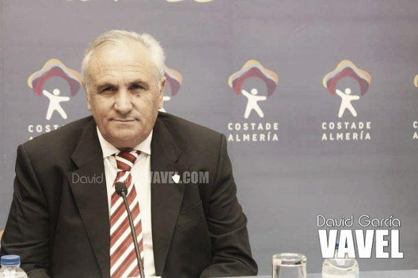 García Gabarrón durante una rueda de prensa | Fotografía: David García