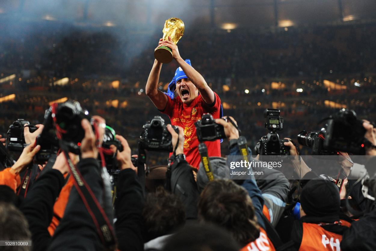David Villa, campeón mundial | Foto: Jasper Juinen (Getty Images))