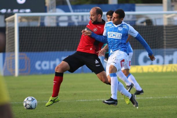 Xavante sai em vantagem, mas cede empate ao São Bento ainda no primeiro tempo