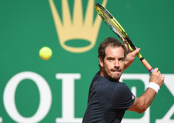 Richard Gasquet gearing up to play his famous trademark backhand (Photo: Yann Coatsaliou/Getty Images)