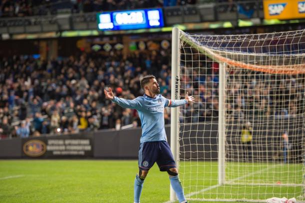 David Villa proved once again why he's one of the best in the MLS | Source: nycfc.com